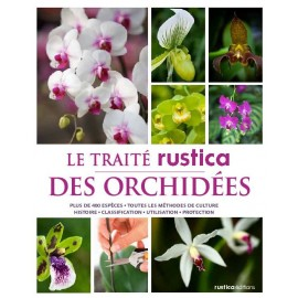 """Livre """"Le traité rustica des orchidées"""""""