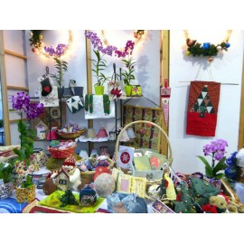 Marché de Noël - Orchidées Vacherot et Lecoufle