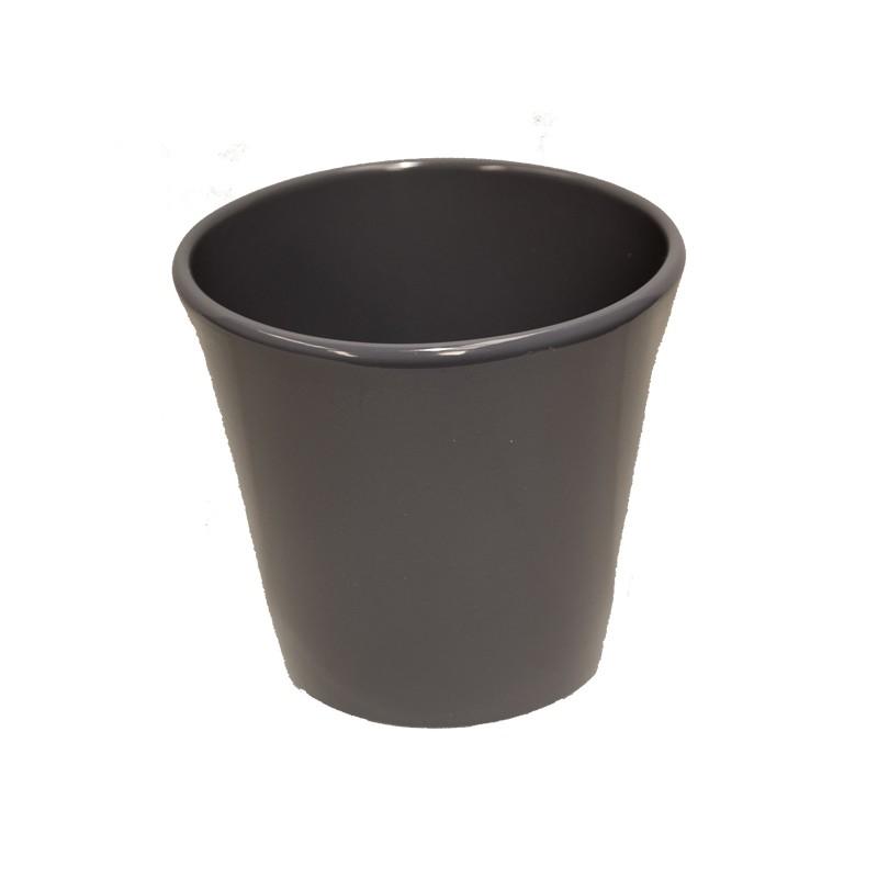 Cache pot orchid e c ramique taupe vente cache pot cache pot standards en ligne - Cache pot ceramique ...