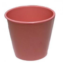 Cache-pot orchidée céramique rose
