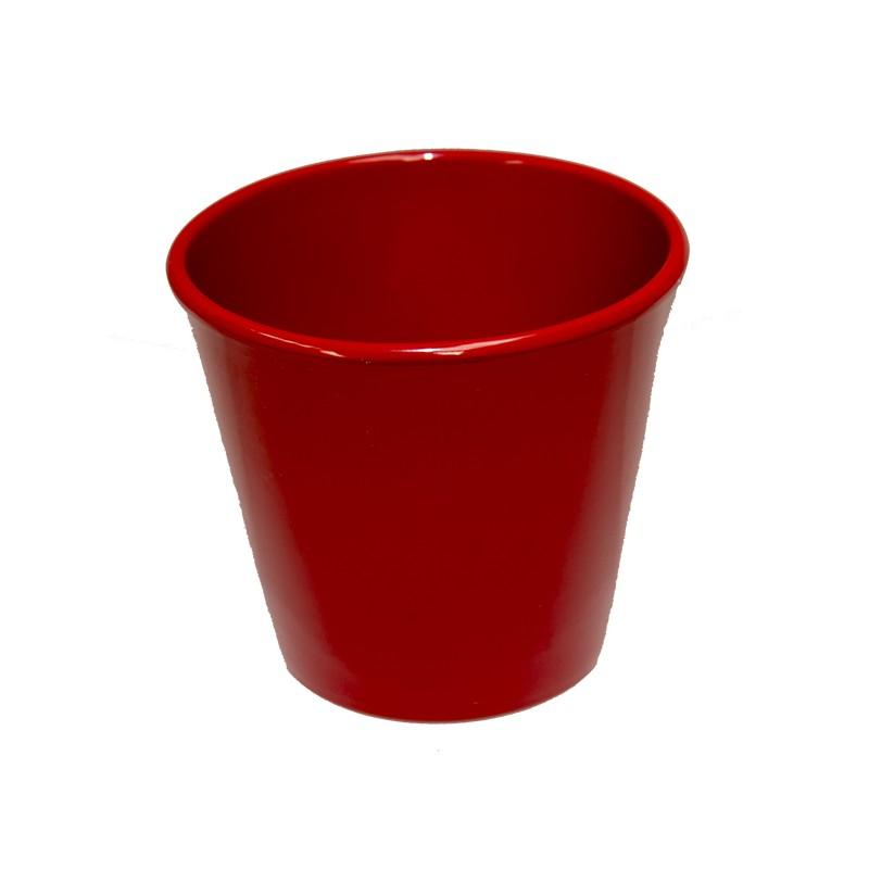 Cache pot orchid e c ramique rouge vente cache pot cache pot standards en ligne - Cache pot ceramique ...