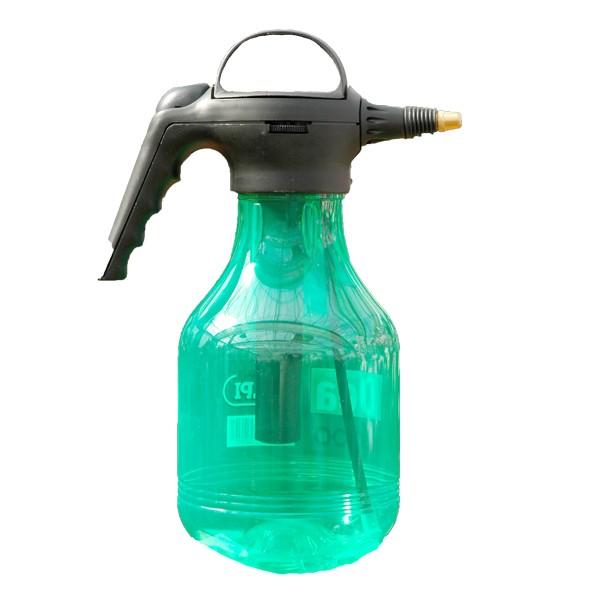 Vaporisateur transparent vert