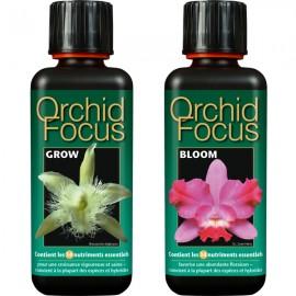 Lot d'engrais 300ml Orchid Focus croissance + floraison