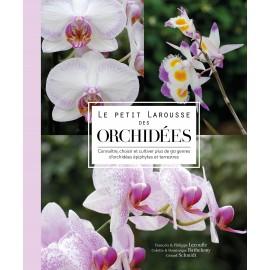 """Livre """"Le petit Larousse des orchidées"""""""